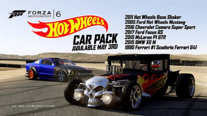 Forza Motorsport 6: Hot Wheels Car Pack veröffentlicht