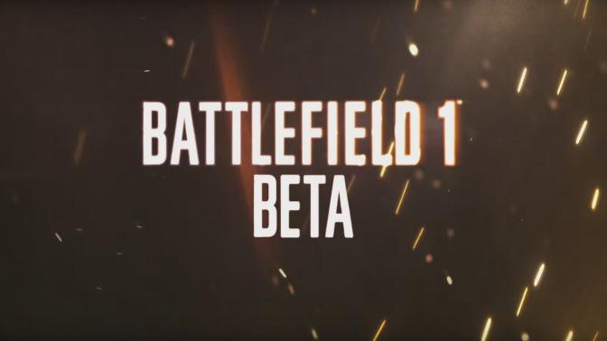 BATTLEFIELD 1: Für Beta anmelden