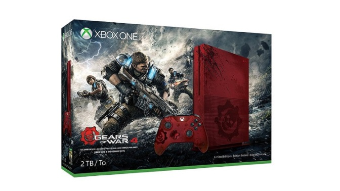 XBOX ONE S: Gears Of War 4 Edition