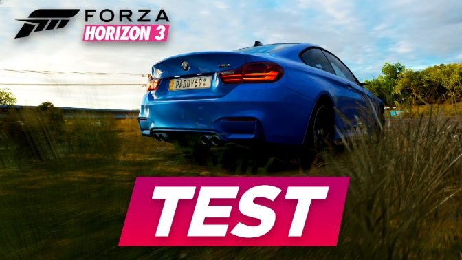 [TEST] FORZA HORIZON 3
