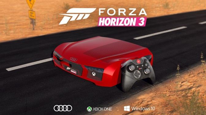 XBOX ONE: Audi R8 Sonderedition gewinnen