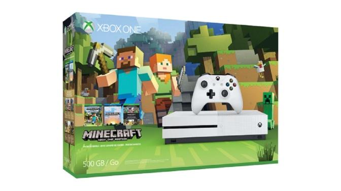 XBOX ONE S: Minecraft Edition