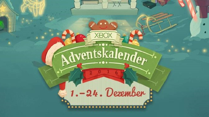 XBOX ADVENTSKALENDER 2016: Morgen gehts los