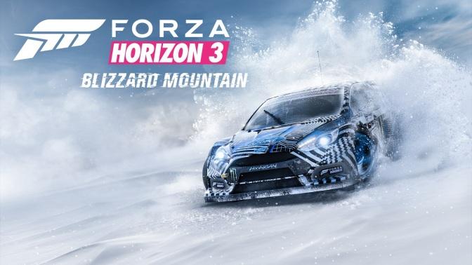 FORZA HORIZON 3: Blizzard Mountain Erweiterung