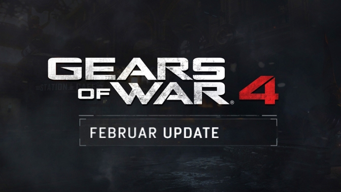 GEARS OF WAR 4: Februar Update & Valentinstag Event