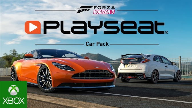 FORZA HORIZON 3: Playseat Car Pack ab morgen erhältlich