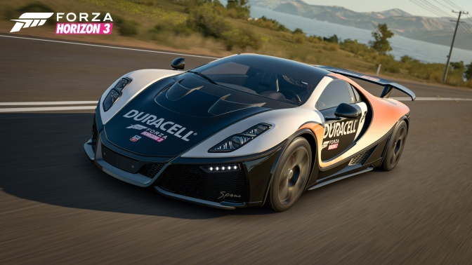 FORZA HORIZON 3: Duracell Car Pack