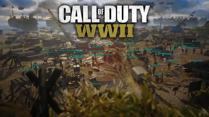 COD WWII: Multiplayer-Gameplay aufgetaucht