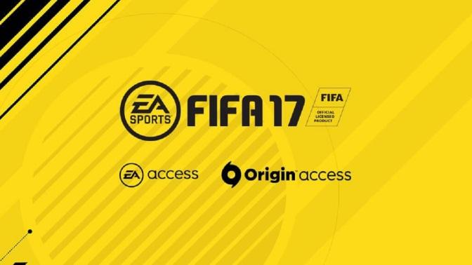 EA ACCESS: FIFA 17 bald dabei