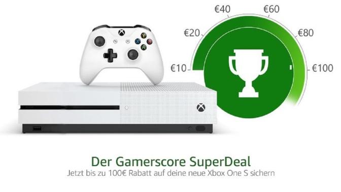 GAMERSCORE SUPER DEAL: Bis zu 100€ Rabatt