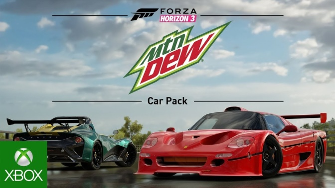 FORZA HORIZON 3: Mountain Dew Car Pack