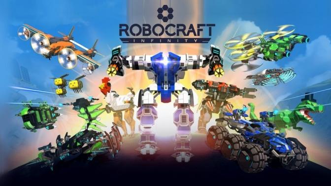 ROBOCRAFT INFINITY: Release im nächsten Jahr