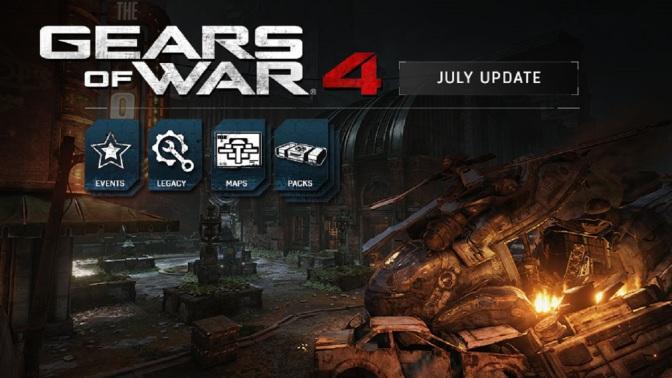 GEARS OF WAR 4: Neue Maps und Windflares im Multiplayer