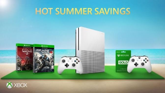 XBOX SOMMER ANGEBOTE: Rabatt auf Spiele, Zubehör und Konsolen
