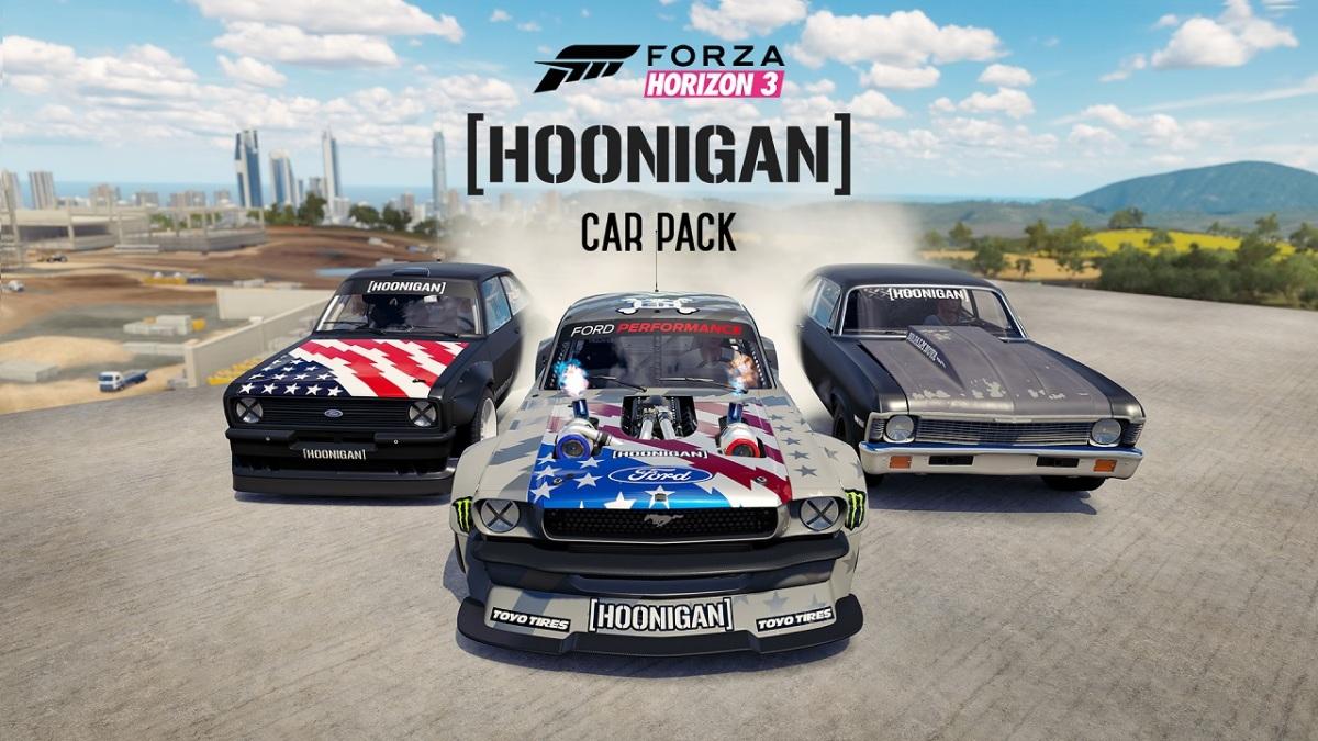 FORZA: Das Hoonigan Car Pack kommt