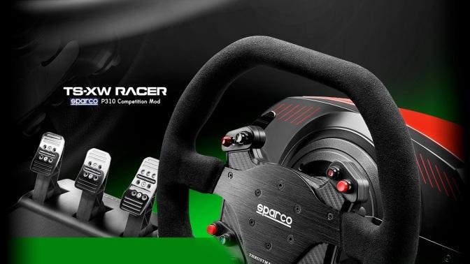 THRUSTMASTER: kündigt neues Racing-Lenkrad in Zusammenarbeit mit Sparco an
