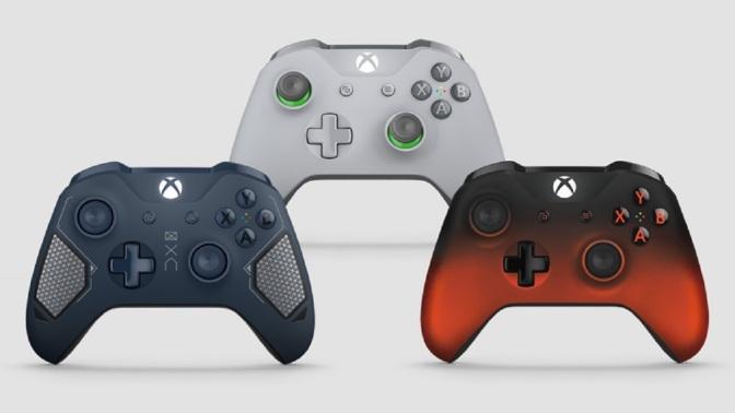 3 neue Xbox One Controller vorgestellt