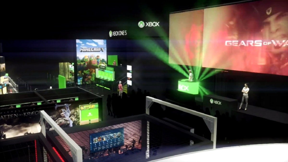 GAMESCOM: Der Xbox Stand im Video