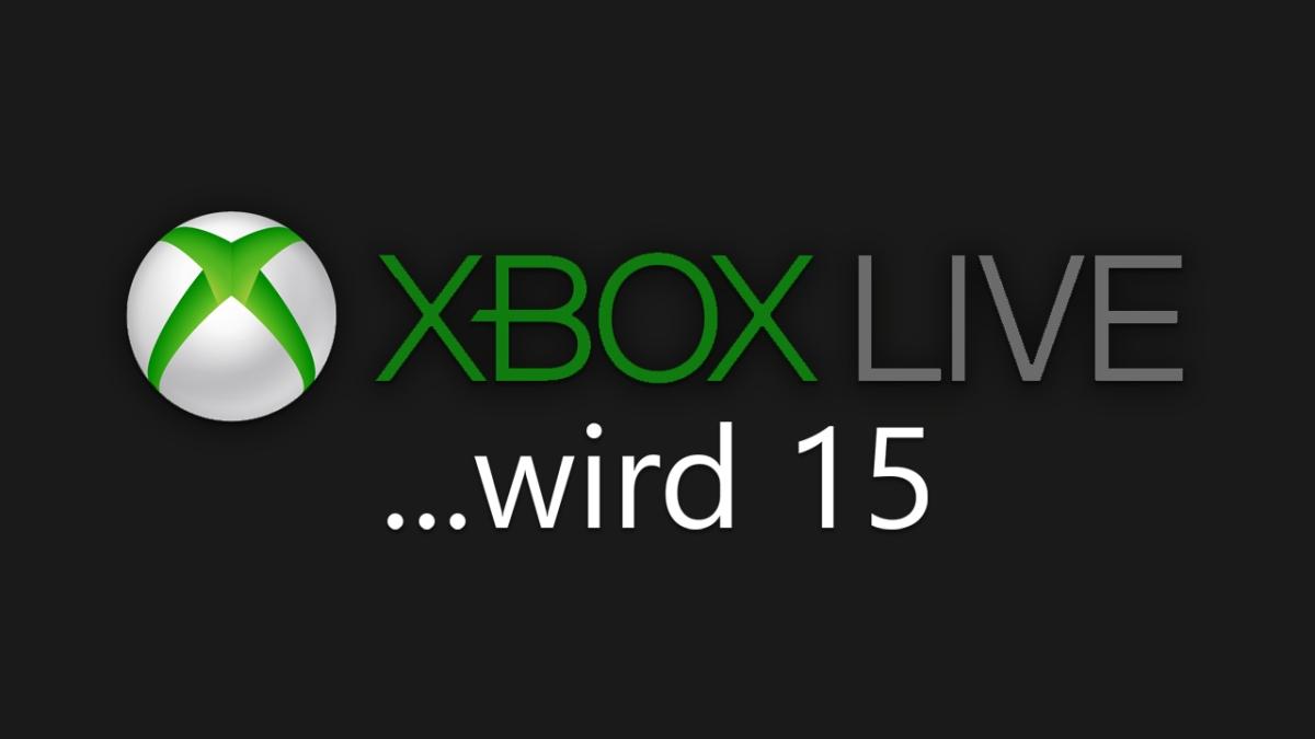 XBOX LIVE wird 15 Jahre alt